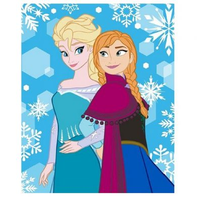 ΚΟΥΒΕΡΤΑ FLEECE Dim Collection 120x150 - Frozen