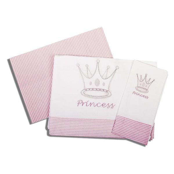 ΣΕΤ ΣΕΝΤΟΝΙ ΒΡΕΦΙΚΟ  3 ΤΕΜ Dim Collection ΜΕ ΚΕΝΤΗΜΑ-Princess