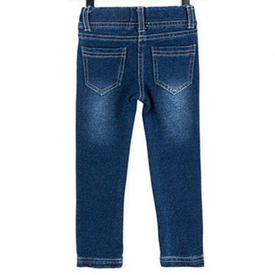 ΚΟΛΑΝ ΤΖΙΝ LOSAN - Denim leggings in plush featuring contrast seams.