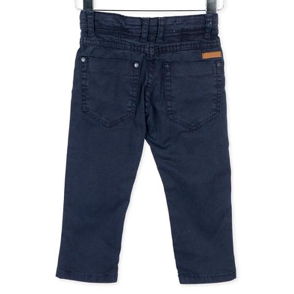 ΠΑΝΤΕΛΟΝΙ LOSAN ΠΑΙΔΙΚΟ Chic Collection - Printed Twill Skinny Trousers in Blue.