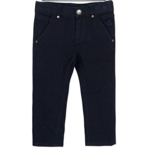 ΠΑΝΤΕΛΟΝΙ LOSAN ΠΑΙΔΙΚΟ Chic Collection - Abstract Fabric Skinny Trousers in Navy Blue.