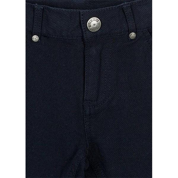 ΠΑΝΤΕΛΟΝΙ LOSAN ΠΑΙΔΙΚΟ Chic Collection - Abstract Fabric Skinny Trousers in Navy Blue.