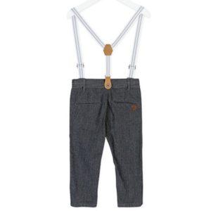 ΠΑΝΤΕΛΟΝΙ LOSAN ΠΑΙΔΙΚΟ ΜΕ ΤΙΡΑΝΤΕΣ Chic Collection - Houndstooth Braces Trousers.