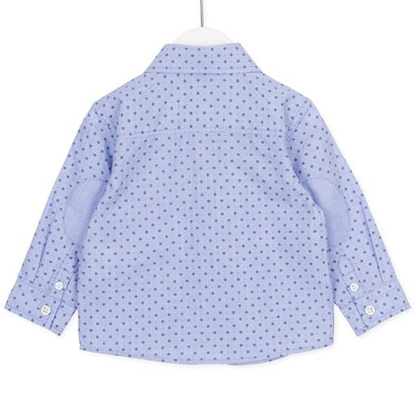 ΠΟΥΚΑΜΙΣΟ LOSAΝ ΜΑΚΡΥΜΑΝΙΚΟ ΒΡΕΦΙΚΟ Chic Collection - Long Sleeve Shirt With Embroidery