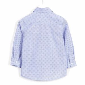 ΠΟΥΚΑΜΙΣΟ LOSAN ΠΑΙΔΙΚΟ - Poplin Long Sleeve Shirt With Embroidery