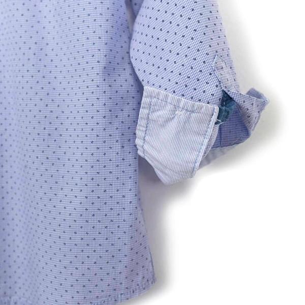ΠΟΥΚΑΜΙΣΟ LOSAN ΠΑΙΔΙΚΟ - Poplin Long Sleeve Shirt With Embroidery
