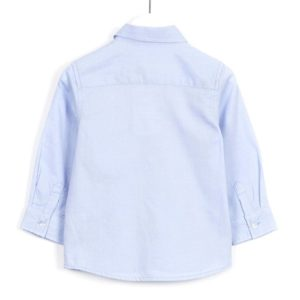 ΠΟΥΚΑΜΙΣΟ LOSAN ΠΑΙΔΙΚΟ - Oxford Long Sleeve Shirt With Embroidery