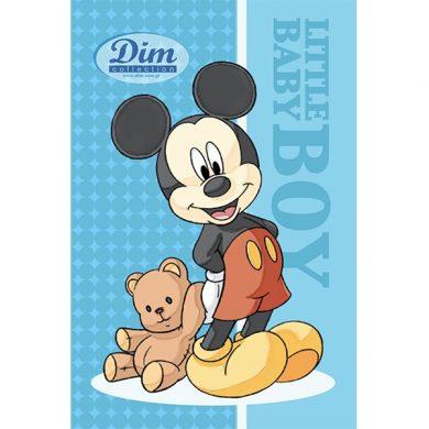 ΒΡΕΦΙΚΗ ΠΕΤΣΕΤΑ ΠΡΟΣΩΠΟΥ 60Χ40 Disney - Mickey