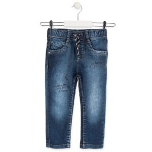 ΠΑΝΤΕΛΟΝΙ LOSAN Denim Slim Kids Ελαστικό - Natural California