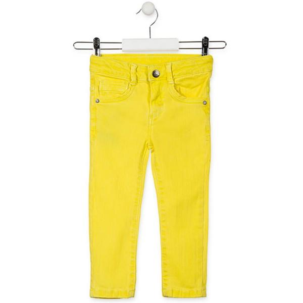 ΠΑΝΤΕΛΟΝΙ LOSAN Denim Slim  Kids Ελαστικό – Yellow