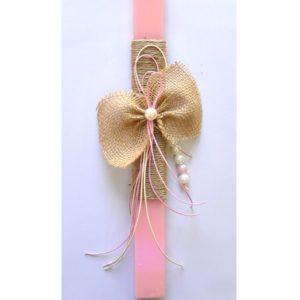 ΠΑΣΧΑΛΙΝΗ ΛΑΜΠΑΔΑ Vintage Bow - PL205