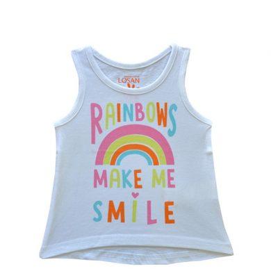 ΜΠΛΟΥΖΑ LOSAN ΑΜΑΝΙΚΗ Kids - Rainbows