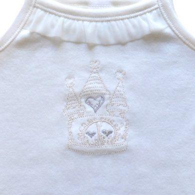 ΒΑΠΤΙΣΤΙΚΟ ΕΣΩΡΟΥΧΟ ΓΙΑ ΚΟΡΙΤΣΙ Pretty Baby - Princess Palace