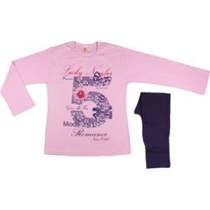 ΠΥΤΖΑΜΑ ΕΦΗΒΙΚΗ NINA CLUB - Romance Pink