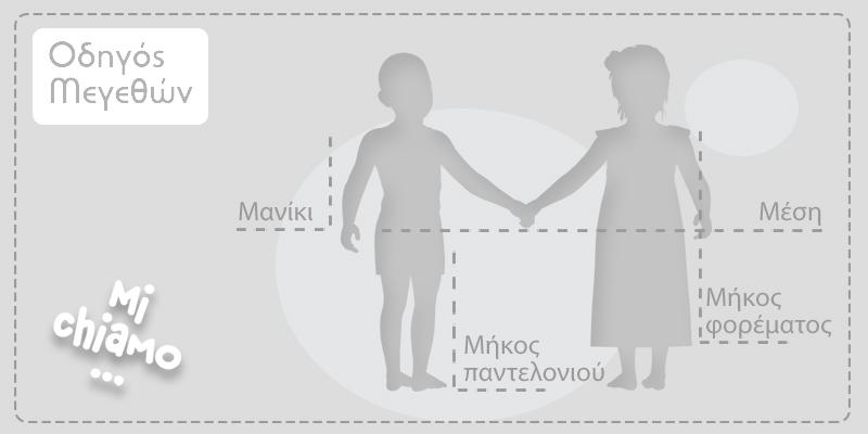 Μεγεθολόγιο Mi Chiamo